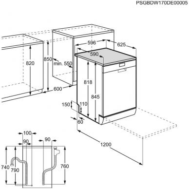 Electrolux ESF9500LOW Indaplovė stacionari 2