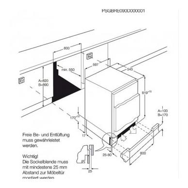 Electrolux LFB3AF82R Šaldytuvas įmontuojamas 2