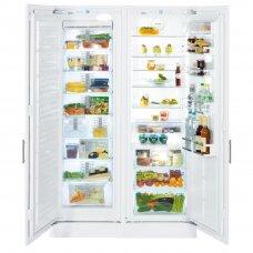 LIEBHERR SBS 70I4 Šaldytuvas įmontuojamas
