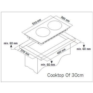 Schlosser ID 351 S Domino kompaktinė kaitlentė 2