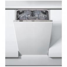 Whirlpool WSIC 3M17 Indaplovė įmontuojama 45 cm pločio