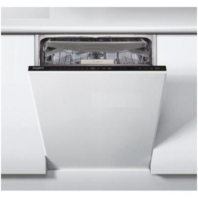 Whirlpool WSIP 4O33 PFE Indaplovė įmontuojama 45 cm pločio